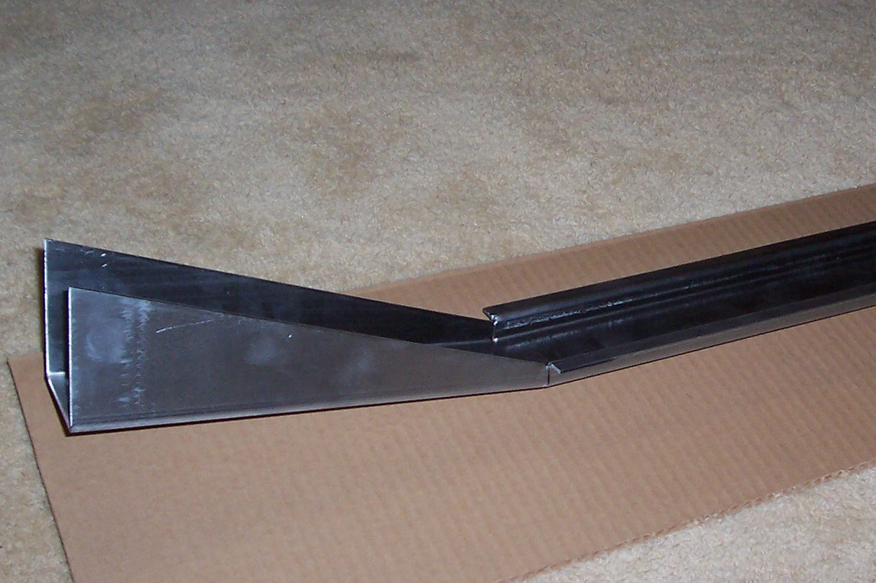 240z Frame Rail (FRONT SIDE / INDIVIDUAL)